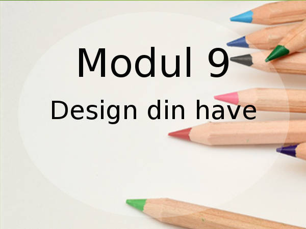 design din have online kursus i havedesign