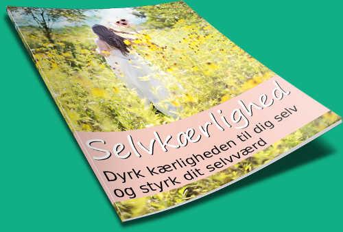 en gratis e-bog med tips til hvordan du styrker dit selvværd