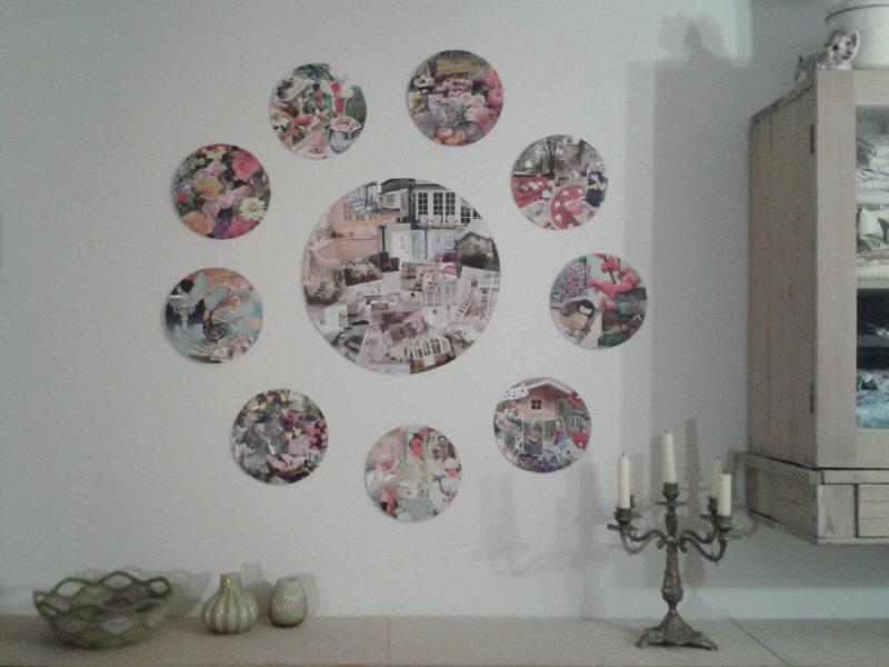 Fasthold dit nytårsforsæt ved at visualisere dit mål med at lave en collage