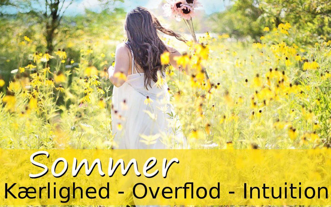 Sommerens energi bringer nydelse og nærvær